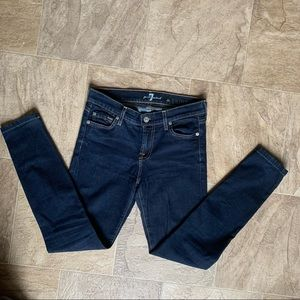 7 For All Mankind | The Skinny Second Skin Jeggings